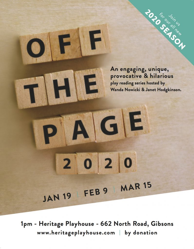 Off the Page poster